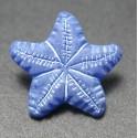 Bouton étoile de mer violet blanc 15 mm b4