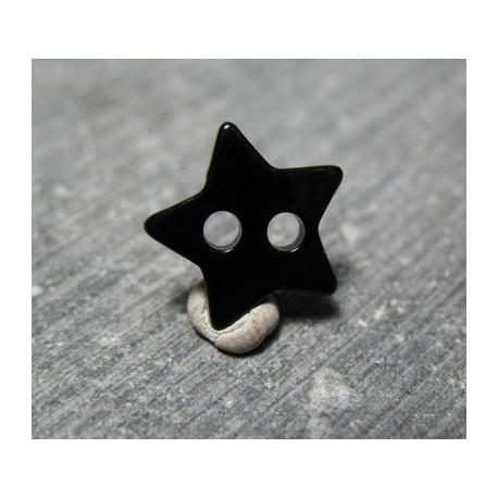 Nacre étoile noir 11 mm