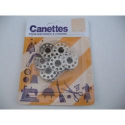 Canettes métal pour machine à coudre
