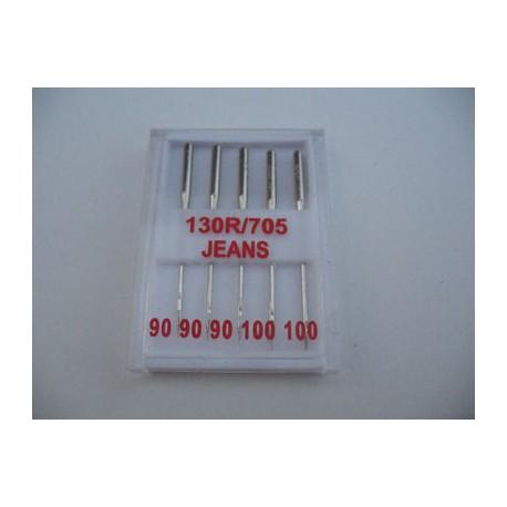Aiguilles machine jeans