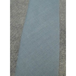 Biais coton semi plié 27 mm