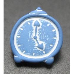 Bouton reveil bleu 12 mm b27