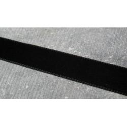 Velours noir 16 mm