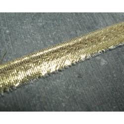 Passepoil doré  9 mm