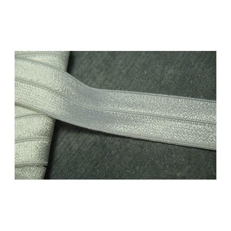 Elastique bordeur 20 mm blanc