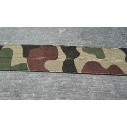 Elastique bordeur camouflage 20 mm