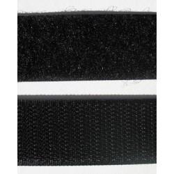 Velcro noir à coudre 25 mm