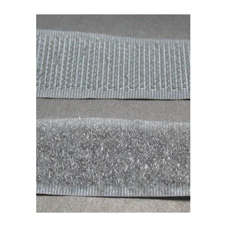 Velcro gris largeur 20 mm