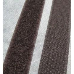Velcro marron à coudre 25mm