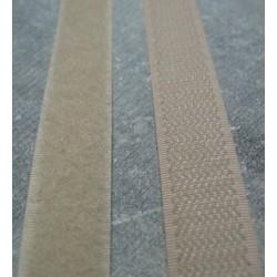 Velcro beige 16 mm à coudre