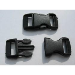Boucle noire 30 mm b28