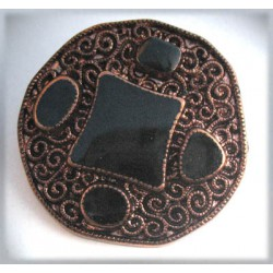 Bouton bijoux 38 mm b3