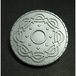 Bouton relief 30mm