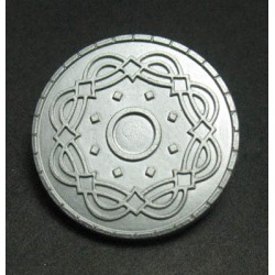 Bouton relief 25mm