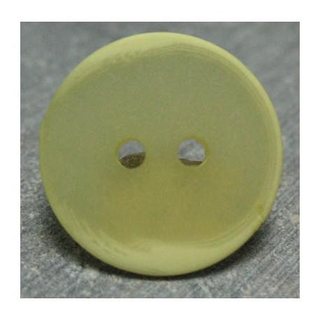 Bouton glace jaune 18 mm b65