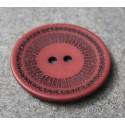 Bouton roulette lie de vin 34 mm  b60