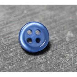 Bouton bleu 9 mm b3