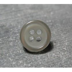 Bouton gris 12 mm b3