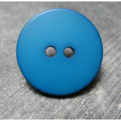 Bouton bleu petrole 27 mm