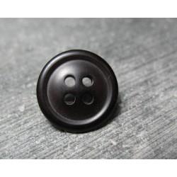 Bouton noir 15mm