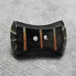 Bouton corne noeud pap 34mm
