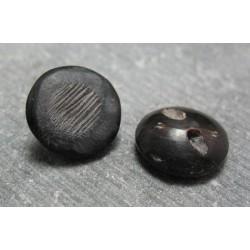 Bouton corne gratte 15 mm b69