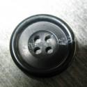 Bouton corne anthracite 23 mm b69