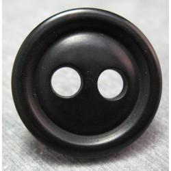 Bouton corozo noir 31 mm b50