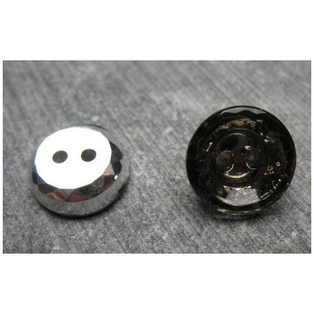 Bouton verre fumé 11 mm b16