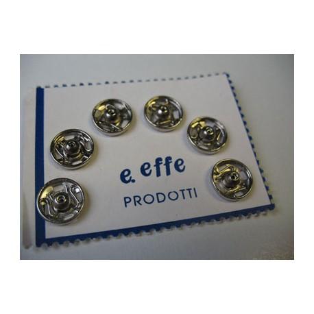Bouton pression 10 mm à coudre (vendu par 6)