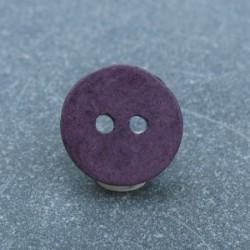 Bouton céramique violet 13 mm b14