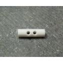 Bouton buchette blanche 15 mm