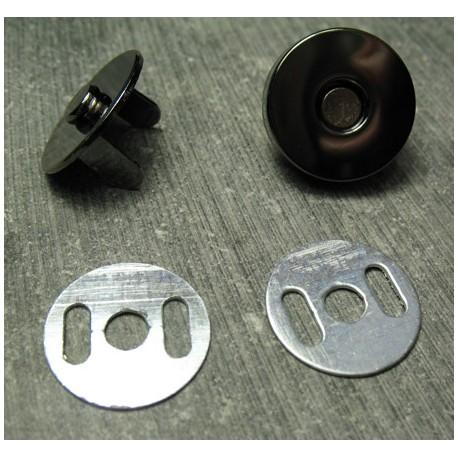 Aimant noir 18 mm