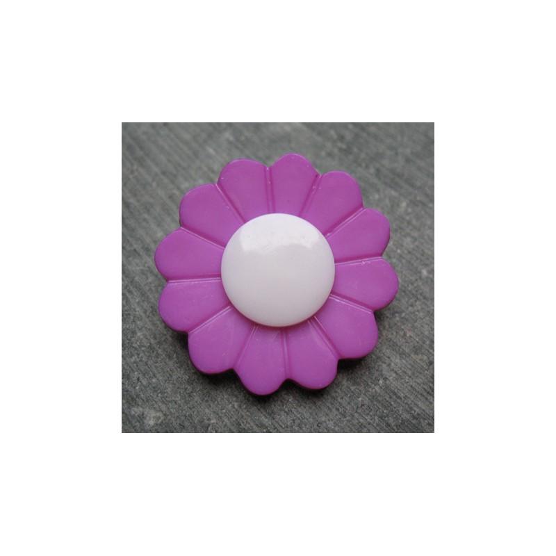 Bouton Fleur Lilas 36 Mm Auchtibouton