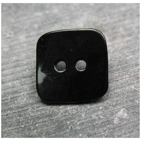 Nacre carré noir 18 mm