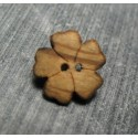 Bouton fleur 5 olivier 13 mm