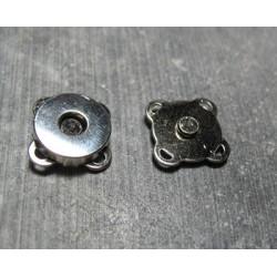 Aimant à coudre argent 15 mm