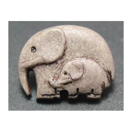 Bouton elephant mastic 16 mm b23