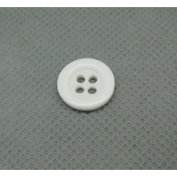 Bouton blanc 4T 13 mm