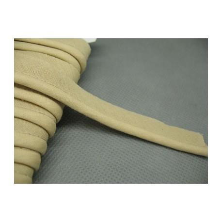 Passepoil coton beige 12mm