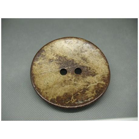 Bouton noix de coco 75mm