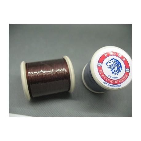 Bobine coton Prima chocolat 250 m