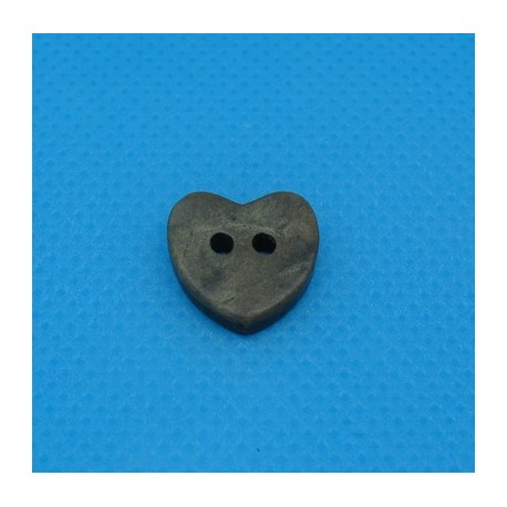 Bouton coco coeur 12mm