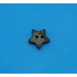 Bouton coco étoile 11mm