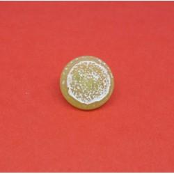 Bouton tranche de citron vert 12mm