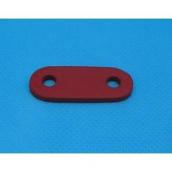 Attache cordon rouge touché gomme 36mm