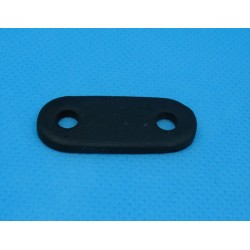 Attache cordon noire touché gomme 36mm