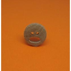 Bouton olivier smile 15mm