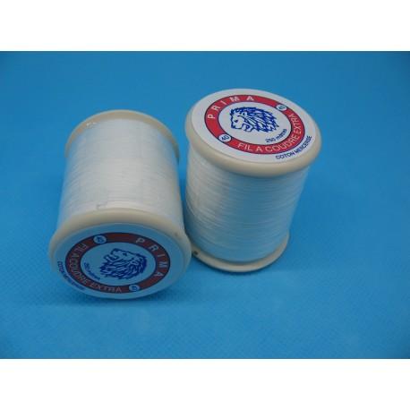 Bobine coton Prima blanc 250m