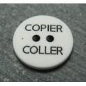 Bouton copier coller b22